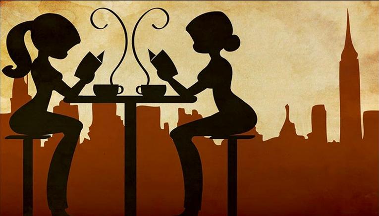 Risultati immagini per letture al bar